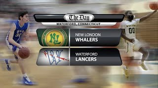 Full replay: New London at Waterford boys' basketball