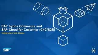 SAP Cloud for Customer and hybris Commerce - B2B Use Cases