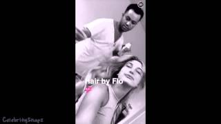 Hailey Baldwin  December 24th 2015  FULL SNAPCHAT STORY Featuring Kylie & Kendall Jenner