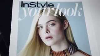 Elle Fannings Cover Shoot BTS | Cover Stars | InStyle