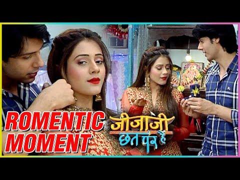 Pancham Elaichi Romantic Moment | Jijaji Chhat Par