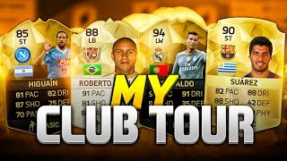 MY CLUB TOUR!