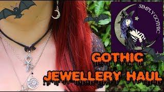SIMPLY GOTHIC COMPANY JEWELLERY HAUL - Teeth, Moons And Skulls