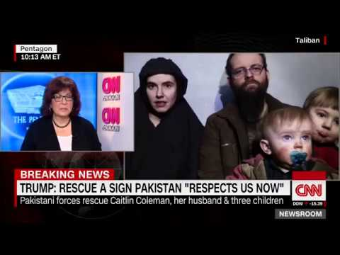 Trump: Rescue a sign world respects US again