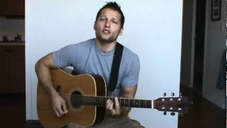 Christopher Scott performs Tidal Wave cover by Josh Kelley