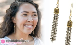 Quick & Easy DIY Jewelry: Chrome Temple Earrings