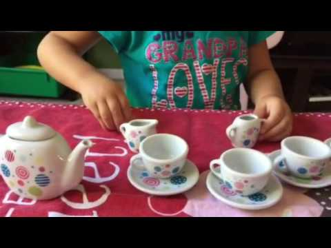 Cookin For Kids Porcelain Tea Set 13pc Review
