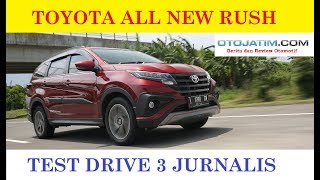 Test Drive All New Toyota Rush 2018 First Review