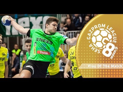 Play of the match: Marin Sipic (Nexe vs Steaua Bucuresti)