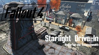 Minutemen Settlement Build - Starlight Drive In