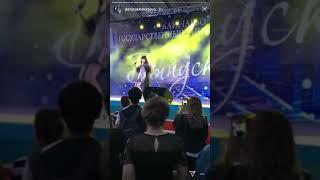 Дениза Хекилаева выступила на Выпускном балу Карачаево-Черкесского Университета 14.07.18