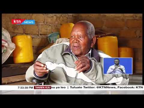 Lucas Mwandighi, ndiye aliyeshukisha bendera ya mkoloni na kupandisha bendera ya kenya 1963