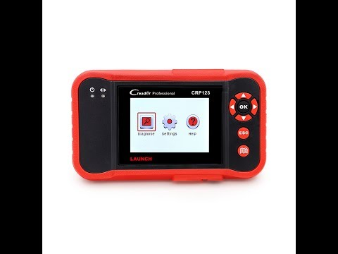 Launch Creader CRP 123-Diagnosing ABS, SRS, Engine & Transmission