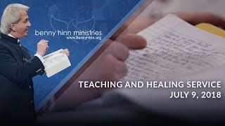 July 9, 2018 Teaching and Healing Service LIVE Re-broadcast