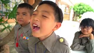 ผู้กองยอดรัก ละครสั้น สน เด็กยิ้มรวมมิตรเทป1 !!! น้องดาว