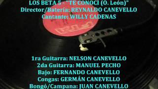 LOS BETA 5 - TE CONOCI (33rpm FTA)