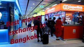 Best money exchange in Bangkok