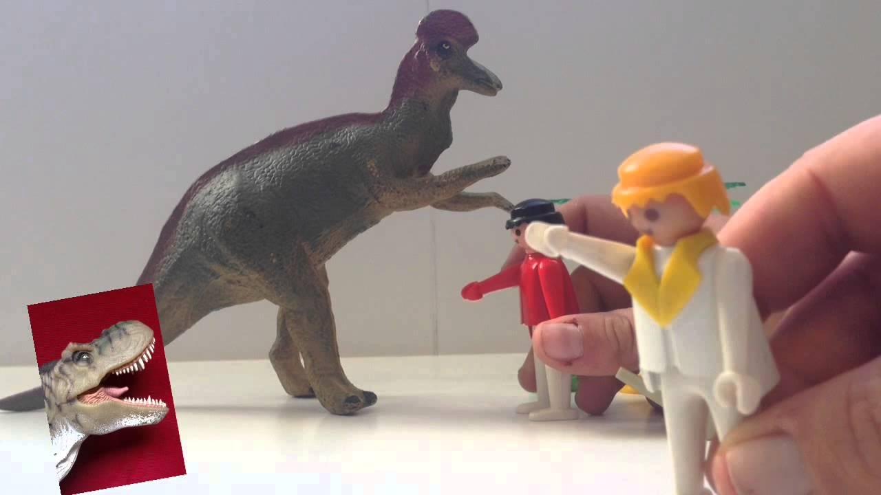 Los clicks de Playmobil y el Corythosaurus