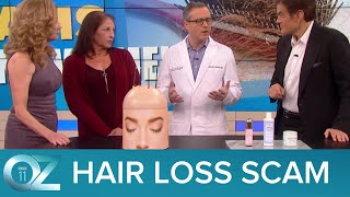 Hair Loss Scams Targeting Women