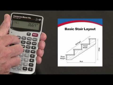 Construction Master Pro - Basic Stair Layout