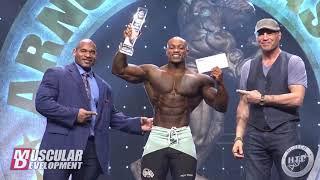 2020 Arnold Classic - Men's Physique Awards