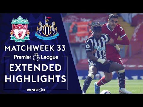 Liverpool v. Newcastle   PREMIER LEAGUE HIGHLIGHTS   4/24/2021   NBC Sports