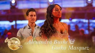 Alexandra Burke and Gorka Marquez Waltz to 'You Make Me Feel' - Strictly Come Dancing 2017