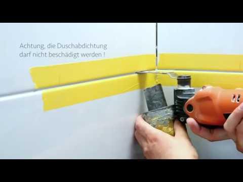 ABLAGO® Design - Befliesbare Duschablage für den Neueinbau und nachträglichen Montage