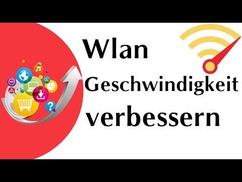 WLAN-Geschwindigkeit verbessern