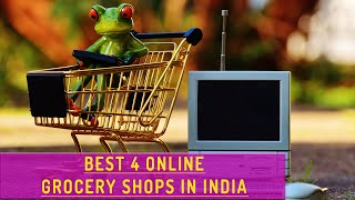 Top Grocery Shopping websites in India