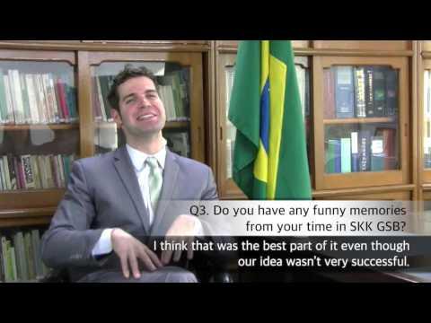 [SKK GSB Alumni Interview] Carlos Gorito