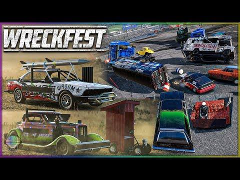 *NEW* DLC PACK 2 DESTRUCTION! | Wreckfest