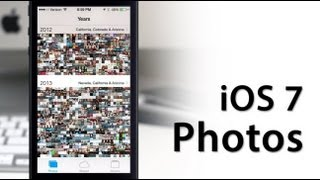 Hands-On IOS 7 Photos App - New Photo Collections And Design