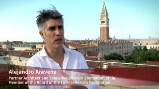 Alejandro Aravena: Learning from examples – Biennale for architecture and industry