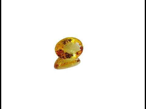 6.85 carat Citrine Gemstone