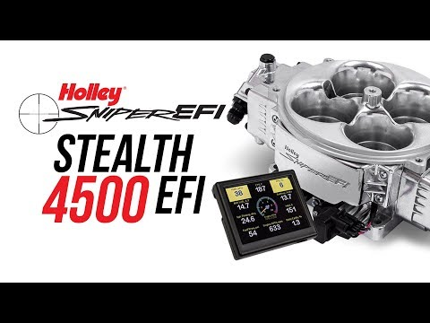 Holley Sniper Stealth 4500 EFI