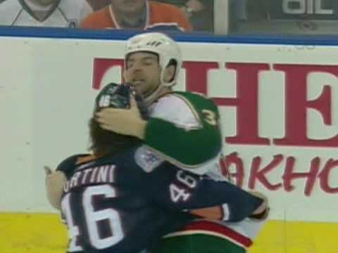John Scott vs Zack Stortini