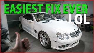 I Fixed the Cheapest SL550 with ONE NEW PART