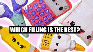 PAPER SQUISHY SCHOOL SUPPLIES | HOW TO MAKE A SQUISHY WITHOUT FOAM