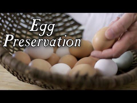 Έξι παραδοσιακοί τρόποι για τη συντήρηση αυγών