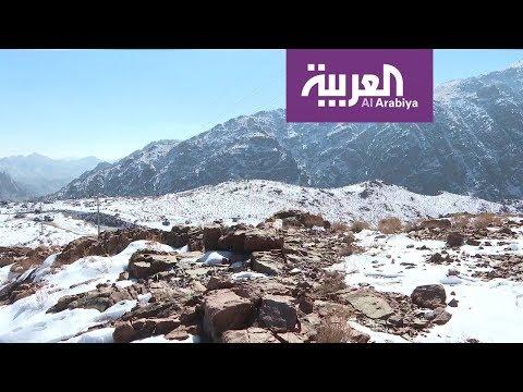 العرب اليوم - شاهد: تبوك والجوف والحدود الشمالية تنتظر الثلوج مجددًا