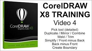 CorelDRAW X8 Tutorial Part 4
