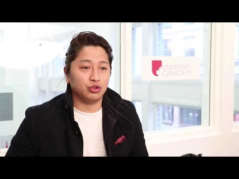 Dil, an MBA student from Nepal, talks about UCW