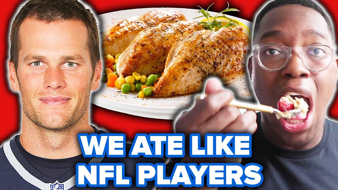 We Ate Like NFL Players For A Day thumbnail