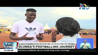 Michael Olunga answers critics questioning his motivation for football