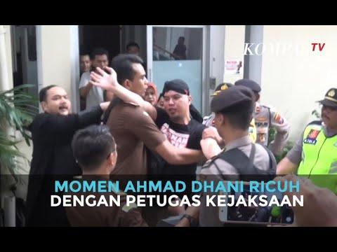 Momen Ahmad Dhani Ricuh dengan Petugas Kejaksaan