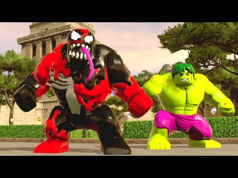 Lego Marvel Super Heroes 2 Walkthrough - 100% Complete Stud Fountain ...