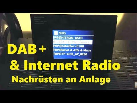 Nachrüsten von DAB + & Internet Radio an bestehender Hifi - Anlage