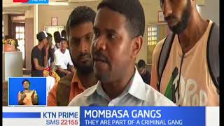 Two underage members of a criminal gang in Mombasa town charged with destruction of property