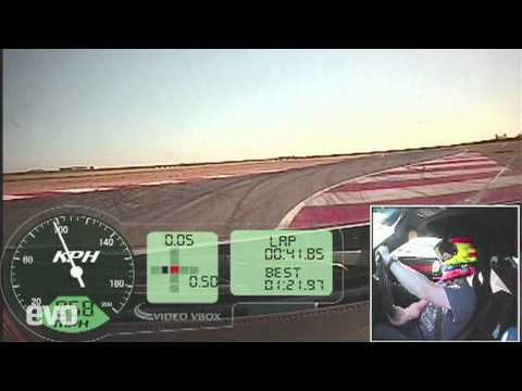 Noble M600 Supercar Track Test
